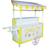 Candy Bar Jaune et Blanc