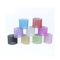 Ronds de serviette strass